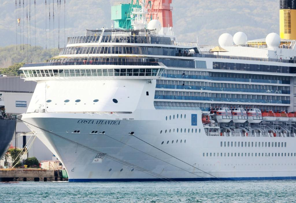 At least 48 crew aboard the Costa Atlantica cruise ship docked at a port in Nagasakia have tested positive for coronavirus