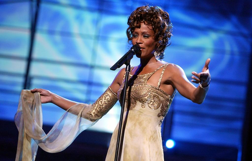 Whitney Houston, seen here in Las Vegas in 2004, is seen as one of the greatest voices of the last 30 years