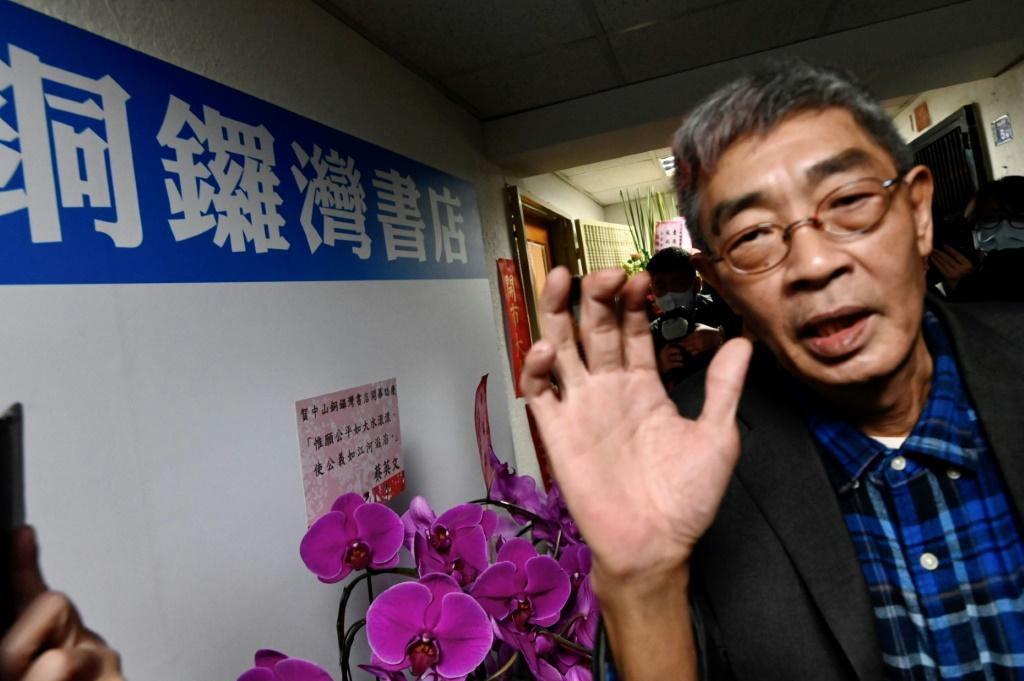 Lam Wing-kee was one of five Hong Kong booksellers who vanished and then resurfaced in custody on the mainland in 2015