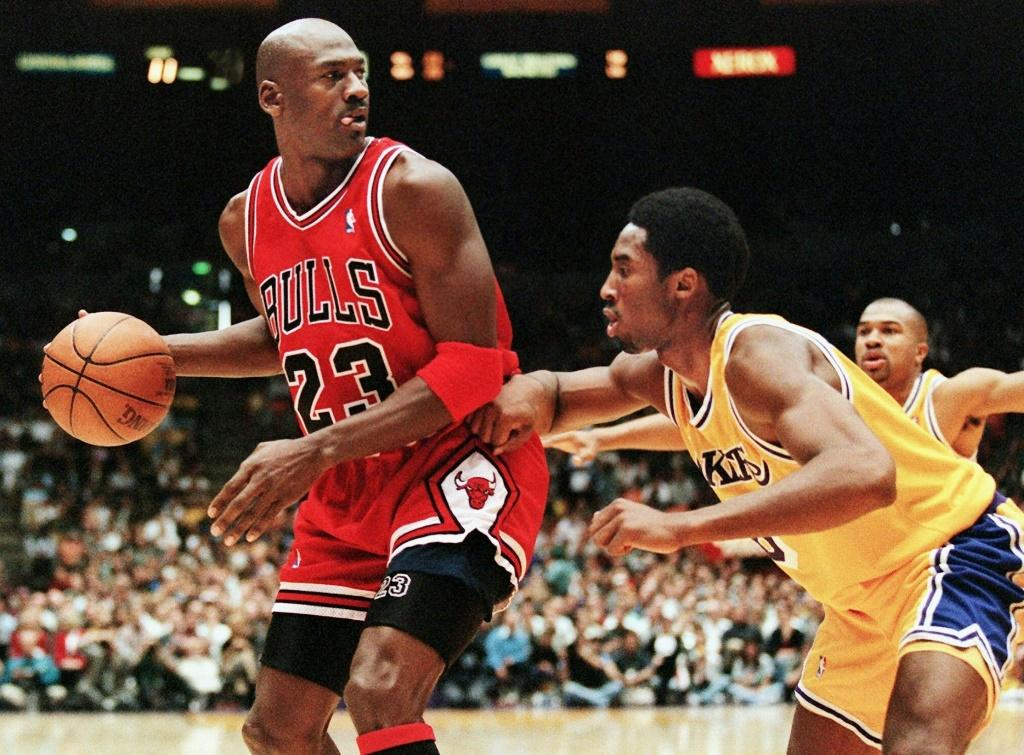A series on Michael Jordan has broken viewing records in the United States and one is in the works on the late Kobe Bryant
