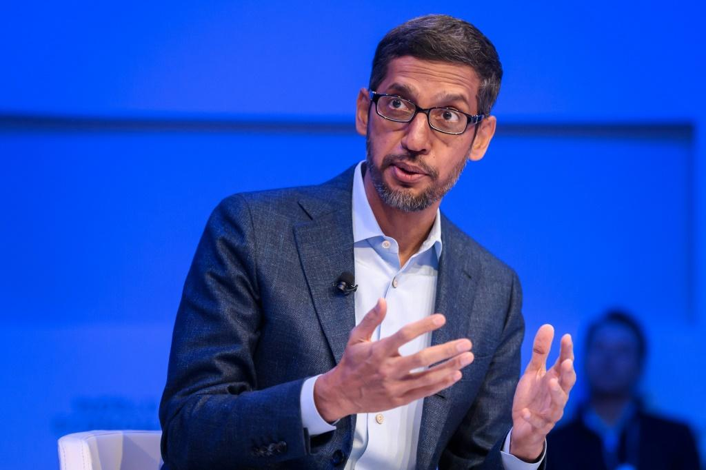 """Alphabet and Google CEO Sundar Pichai said """"we've marshalled our resources"""" to help assist people during the coronavirus pandemic"""