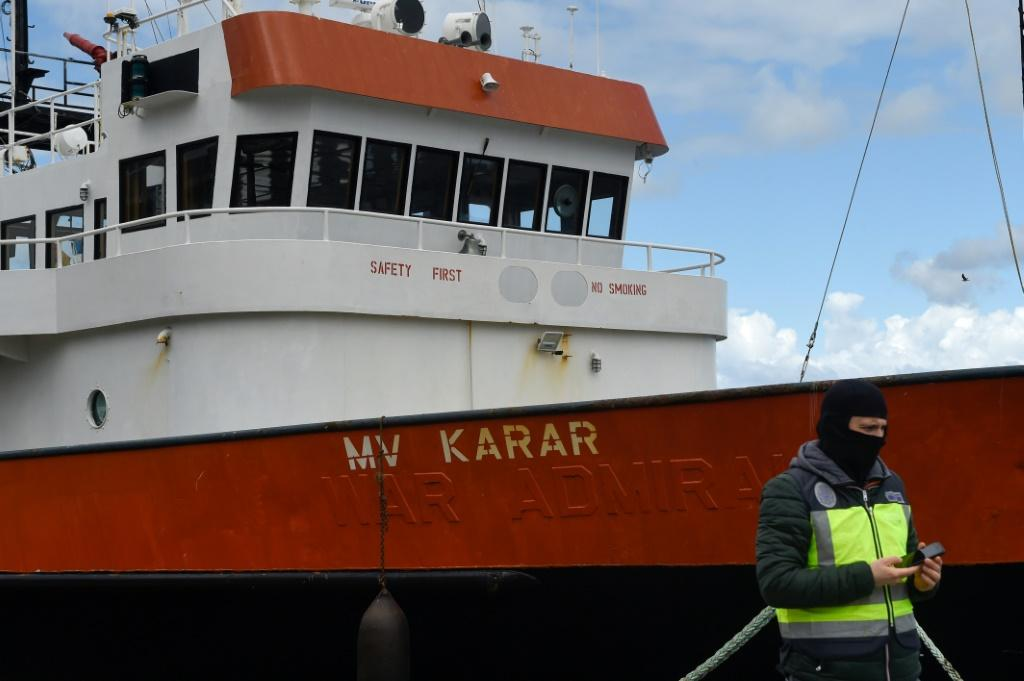Spanish authorities boarded the MV Karar and found that it was carrying 4000 kgs of cocaine