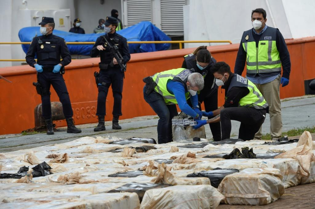 Spanish police said they have busted the biggest drug-smuggling organisation in the northwestern region of Galicia