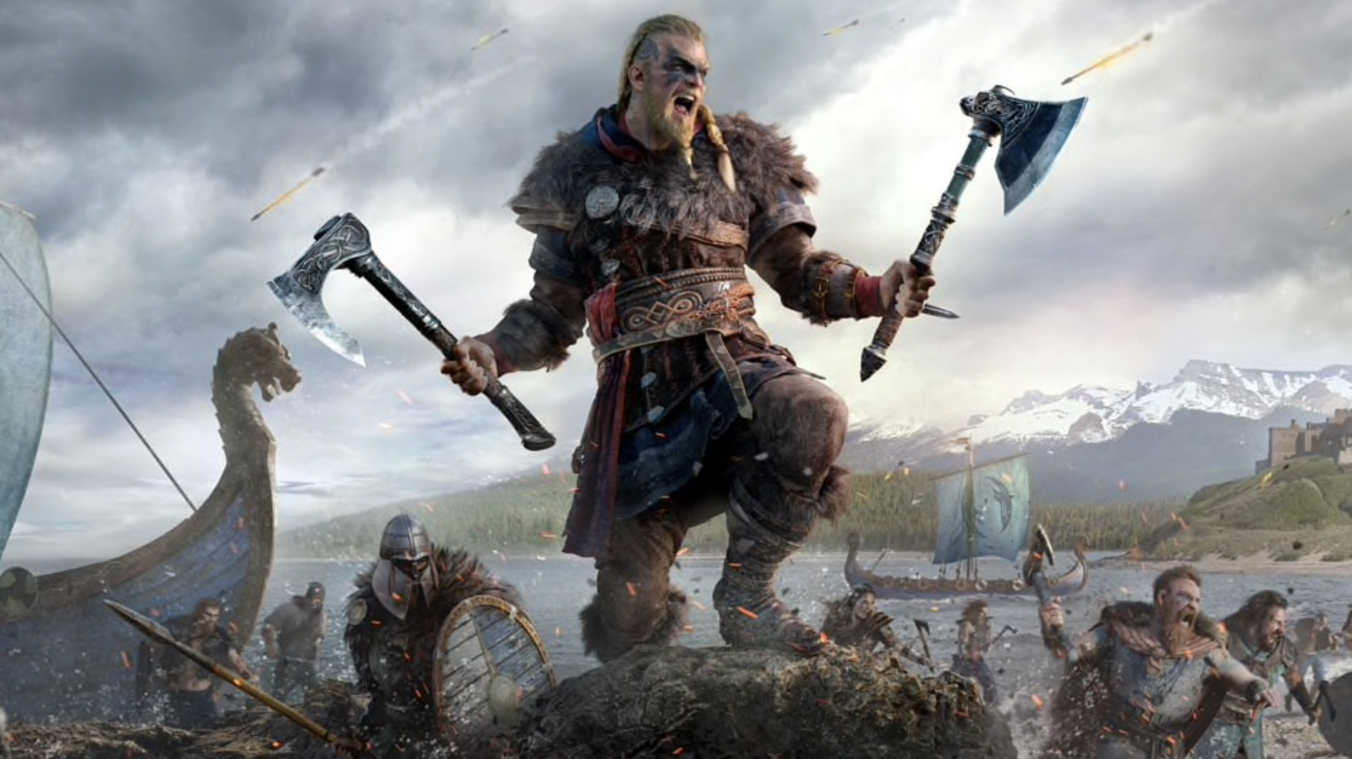 'Assassin's Creed Valhalla' puts players in the role of a powerful Viking.