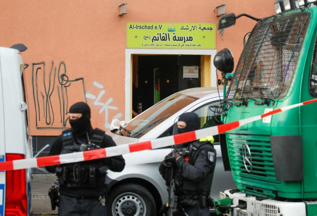 Interior Minister Horst Seehofer banned all activities of Lebanon's Iran-backed Hezbollah movement in Germany, with police raiding on mosques and other places in Berlin and other cities.