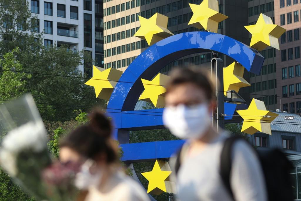 Covid-19 lockdowns take their toll with record fall for Eurozone economy