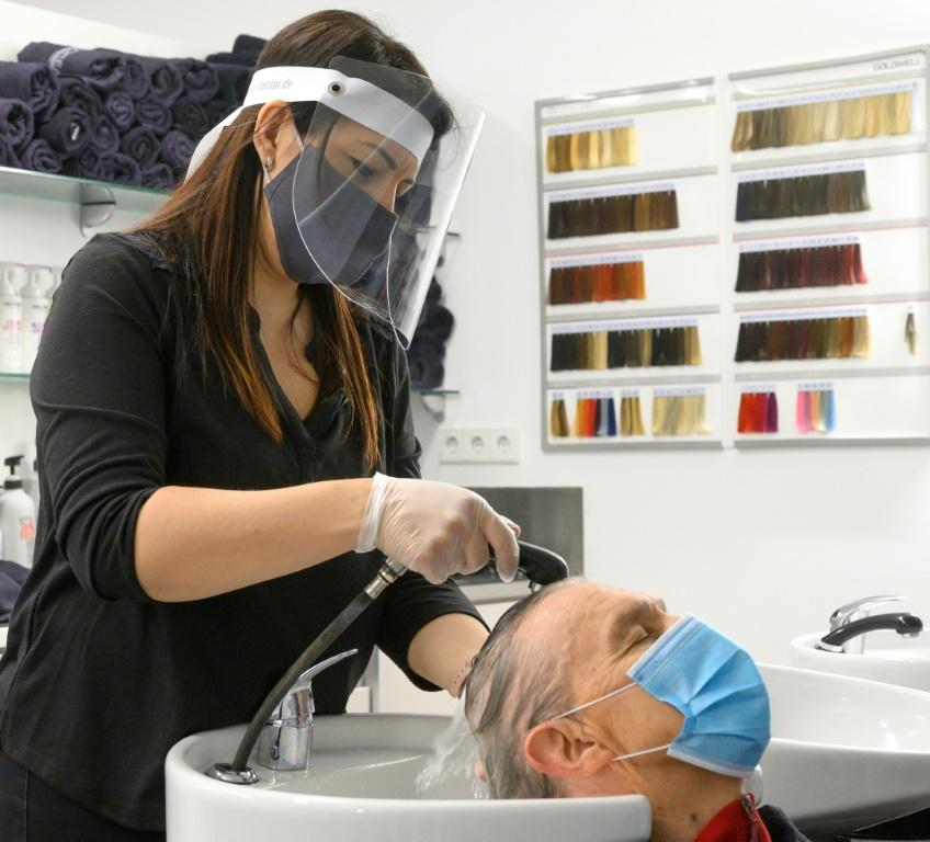Hair salons have been allowed to reopen in Germany