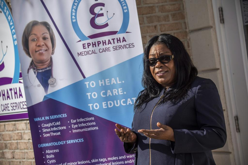 Nurse practioner Emanie Dorival said she alerted the local authorities very early to the number of cases piling up in her surgery in Seaford, Delaware