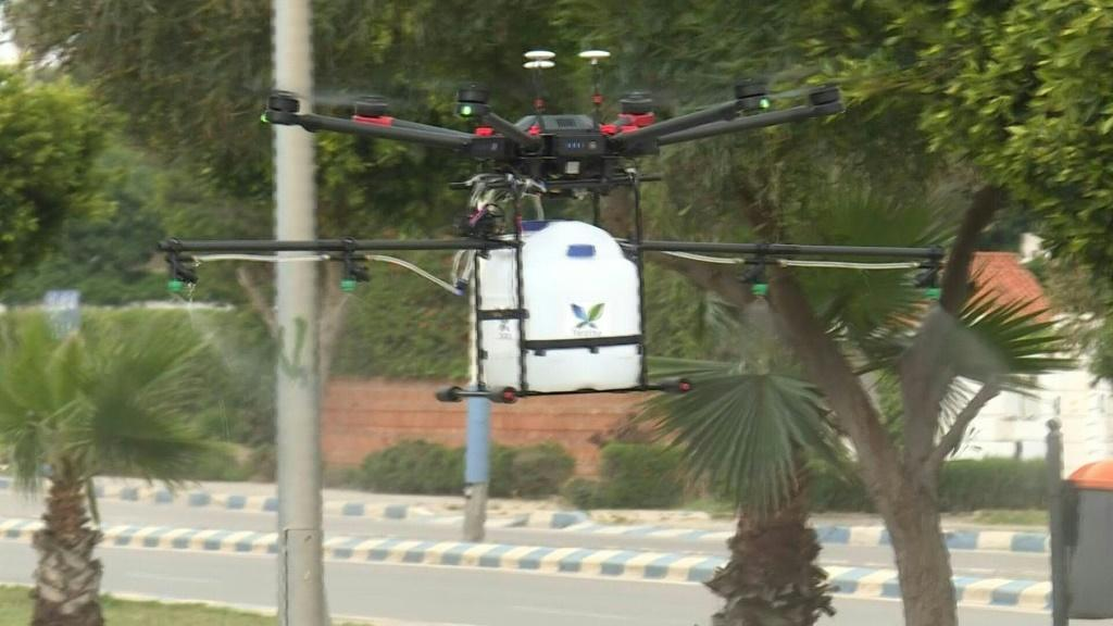 Morocco has rapidly expanded its fleet of drones as it battles the coronavirus pandemic, deploying them for aerial surveillance, public service announcements and sanitisation