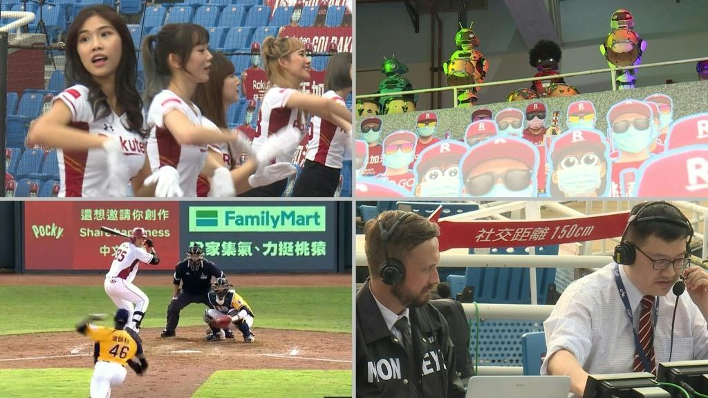 A troupe of robots bang drums while cheerleaders broadcast their dance routines to fans on mobile phones. Welcome to Taiwanese baseball. Foreign fans starved of the sport are tuning in to Taiwan's often-overlooked league as the island basks in the glow of