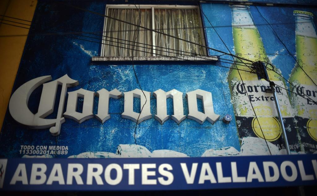 Beer stores, such as this one seen in Mexico City on May 5, are closed