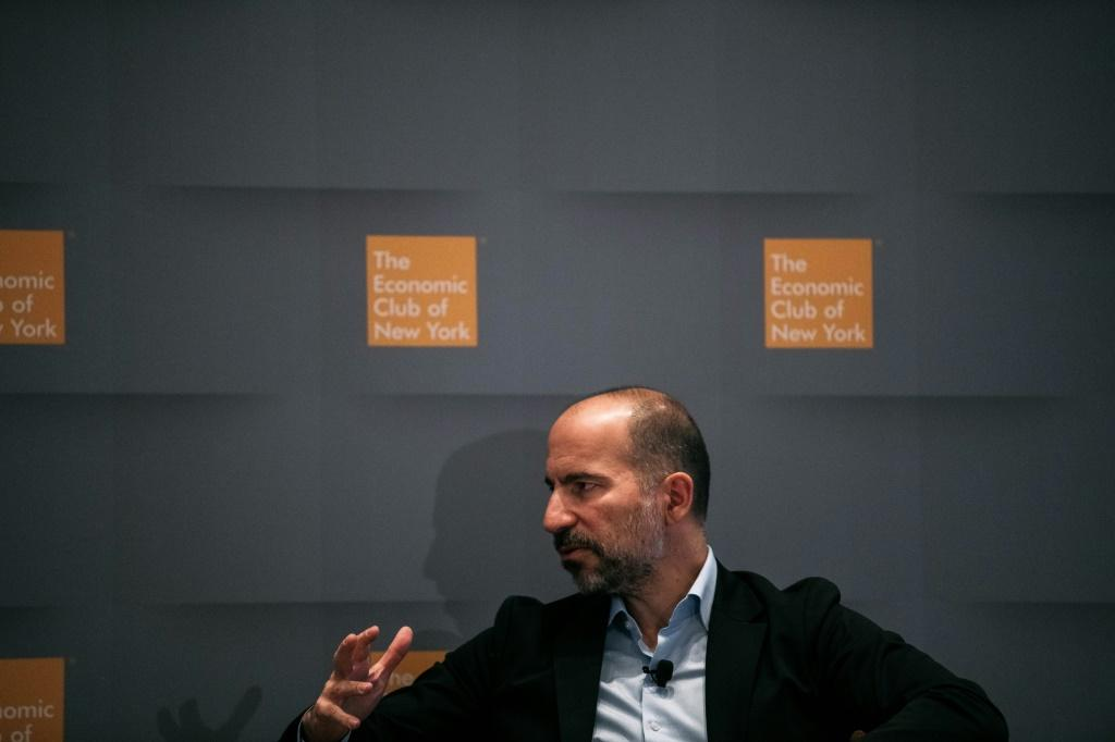 Uber CEO Dara Khosrowshahi said there were some signs of recovery for the ridesharing giant after it posted a $2.9 billion loss in the first quarter