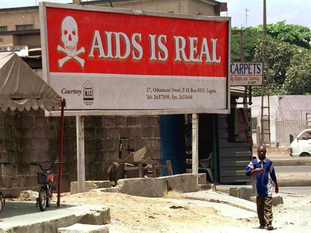 In 2018 -- the latest figures given -- an estimated 470,000 people died of AIDS-related deaths in sub-Saharan Africa