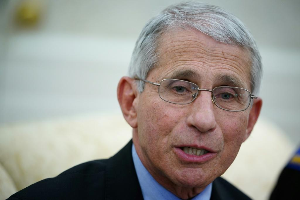 US virus expert Anthony Fauci warned that lifting lockdown measures too early could fuel a second wave of infections and hit the economic recovery