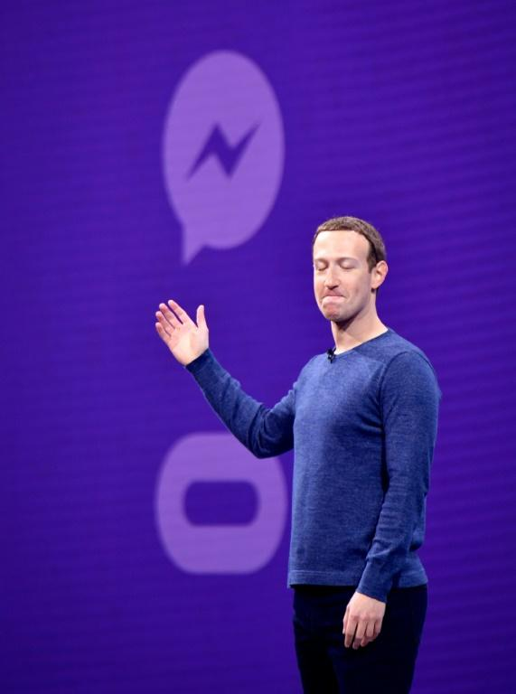 Facebook CEO Mark Zuckerberg, seen in a 2018 picture, said new tools for retailers can help merchants ride out the pandemic and move into online commerce
