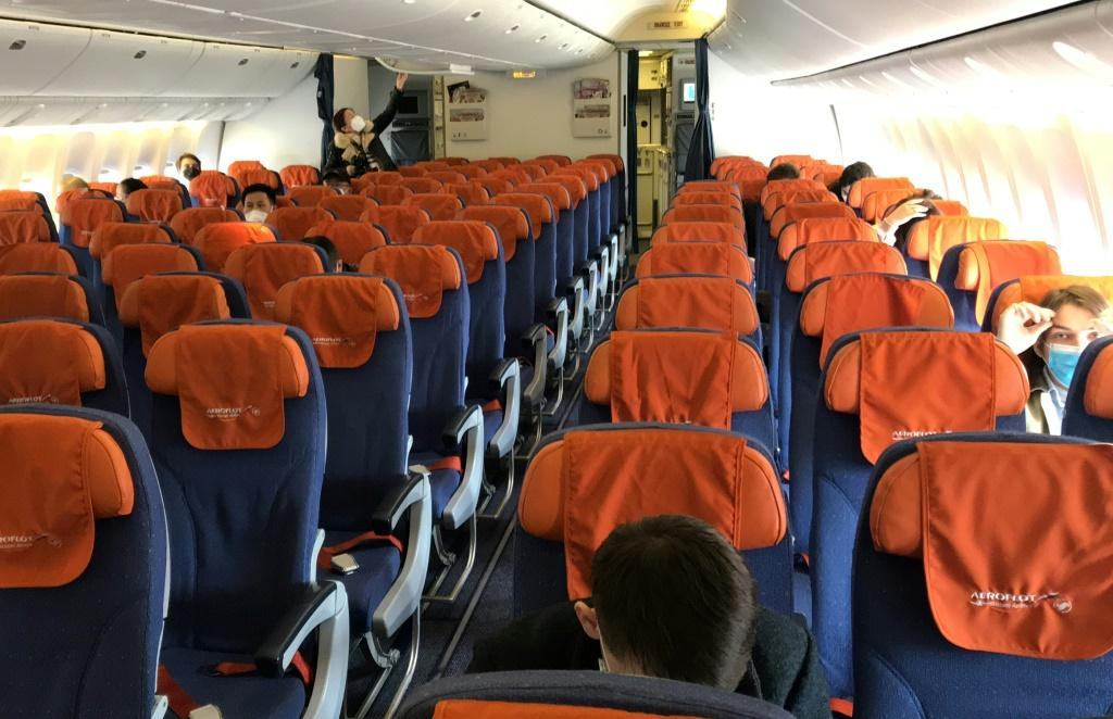 Many flights have had empty seats as few people could or wanted to fly during the crisis, but airlines are resisting keeping seats empty as a health measure as it is very expensive