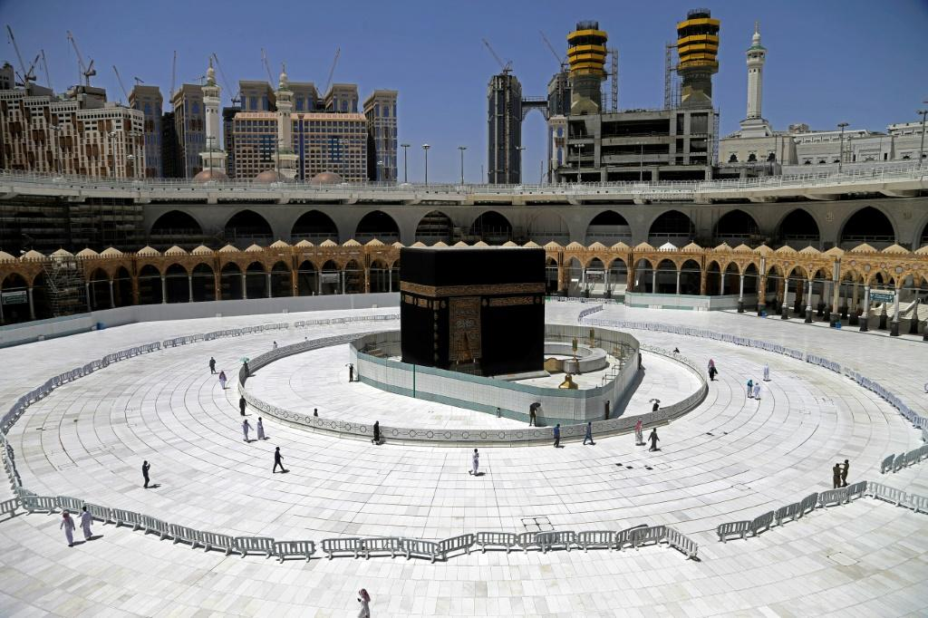 Mecca's Grand Mosque has been almost devoid of worshippers since March, with a stunning emptiness enveloping the sacred Kaaba
