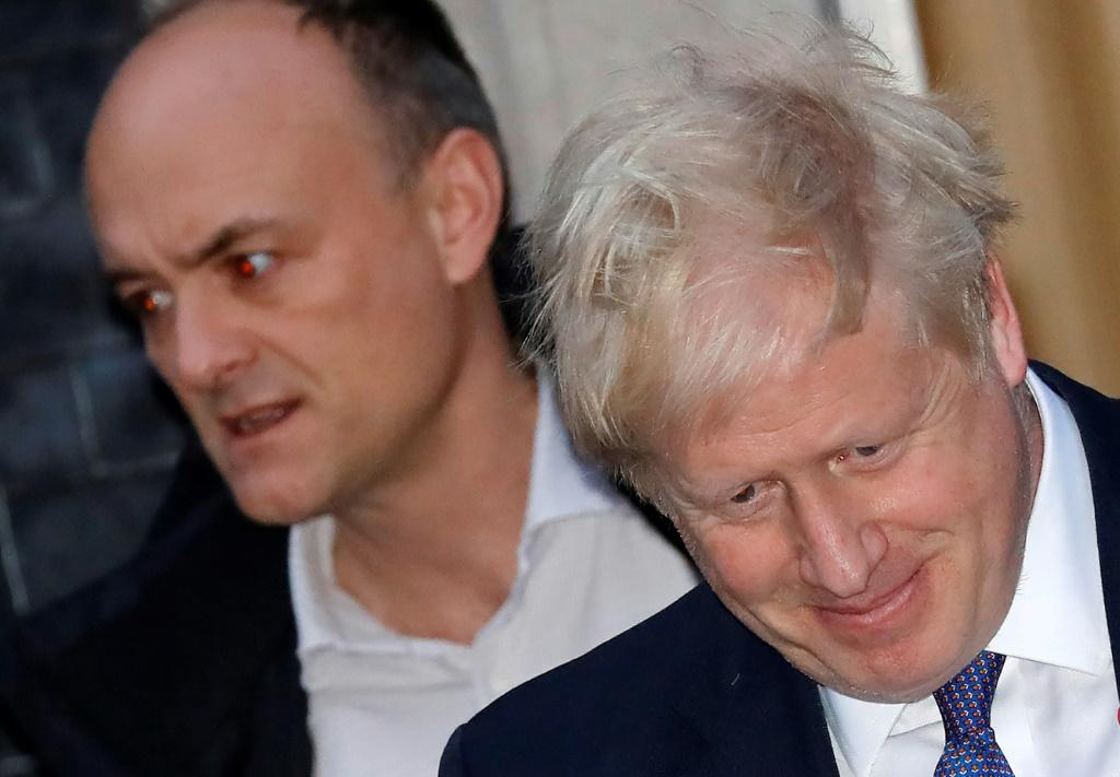 Cummings masterminded the 2016 Brexit campaign alongside Johnson