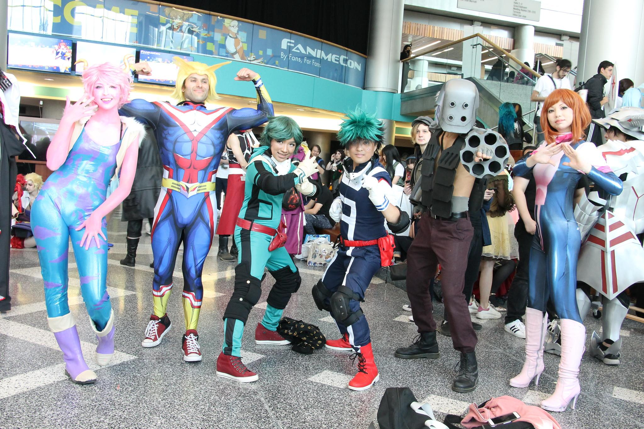 FanimeCon 2018 - My Hero Academia Cosplay