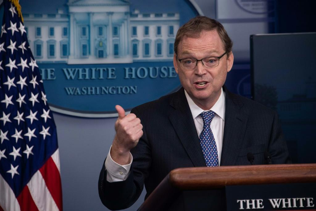 Kevin Hassett, chairman of the Council of Economic Advisers, sees double-digit unemployment through the US elections