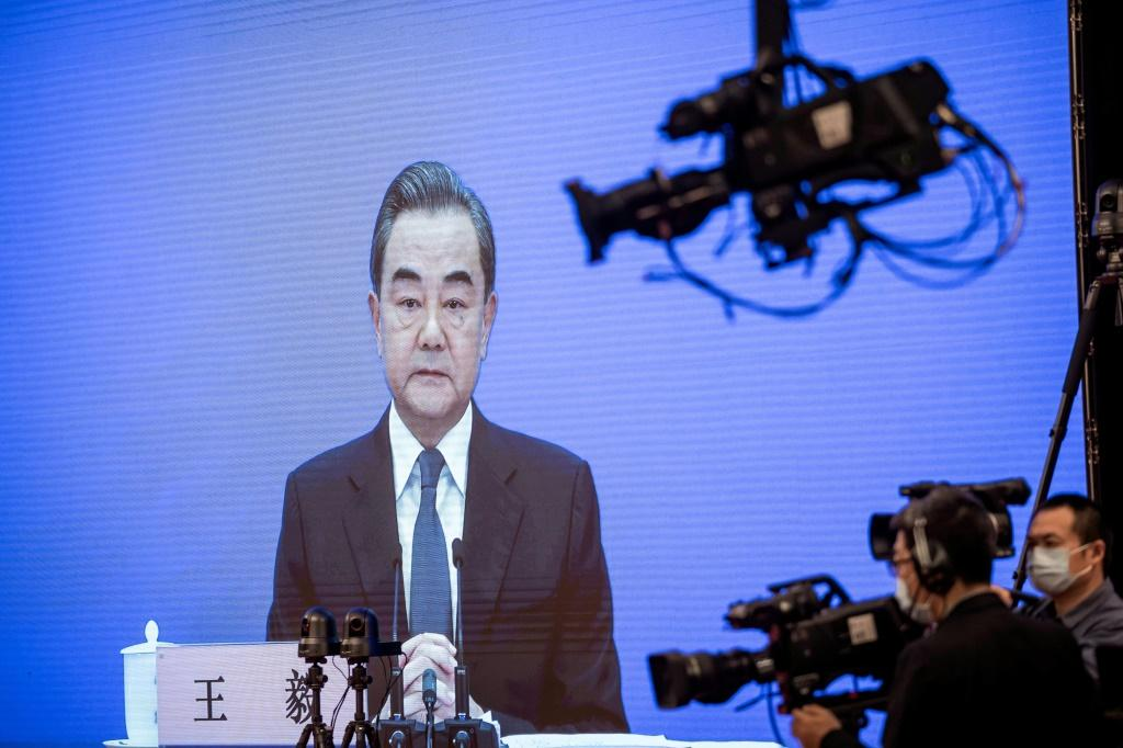 The Chinese Foreign Minister Wang Yi said the United States had been infected by a 'political virus' compelling figures there to continually attack China