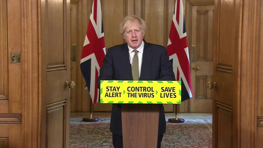 British PM Boris Johnson expresses reiterates his support for his embattled top aide Dominic Cummings