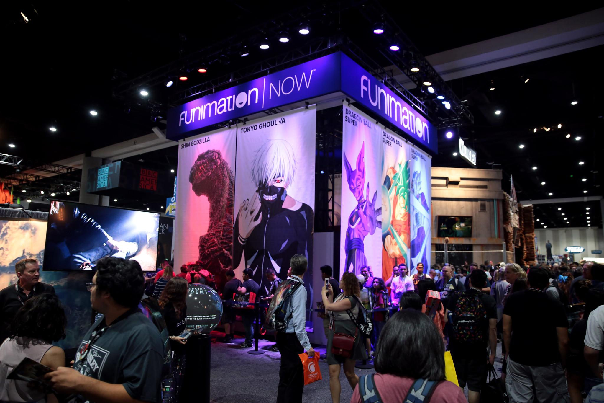 Funimation Booth