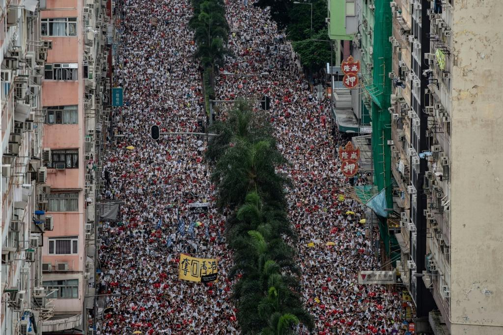 Organisers claim that some of the protests last year attracted more than one million people