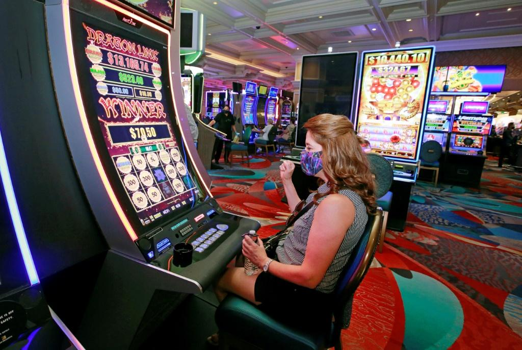 On the world-famous Strip, which has been almost deserted since mid-March, casinos and resort hotels began reopening more slowly after dawn