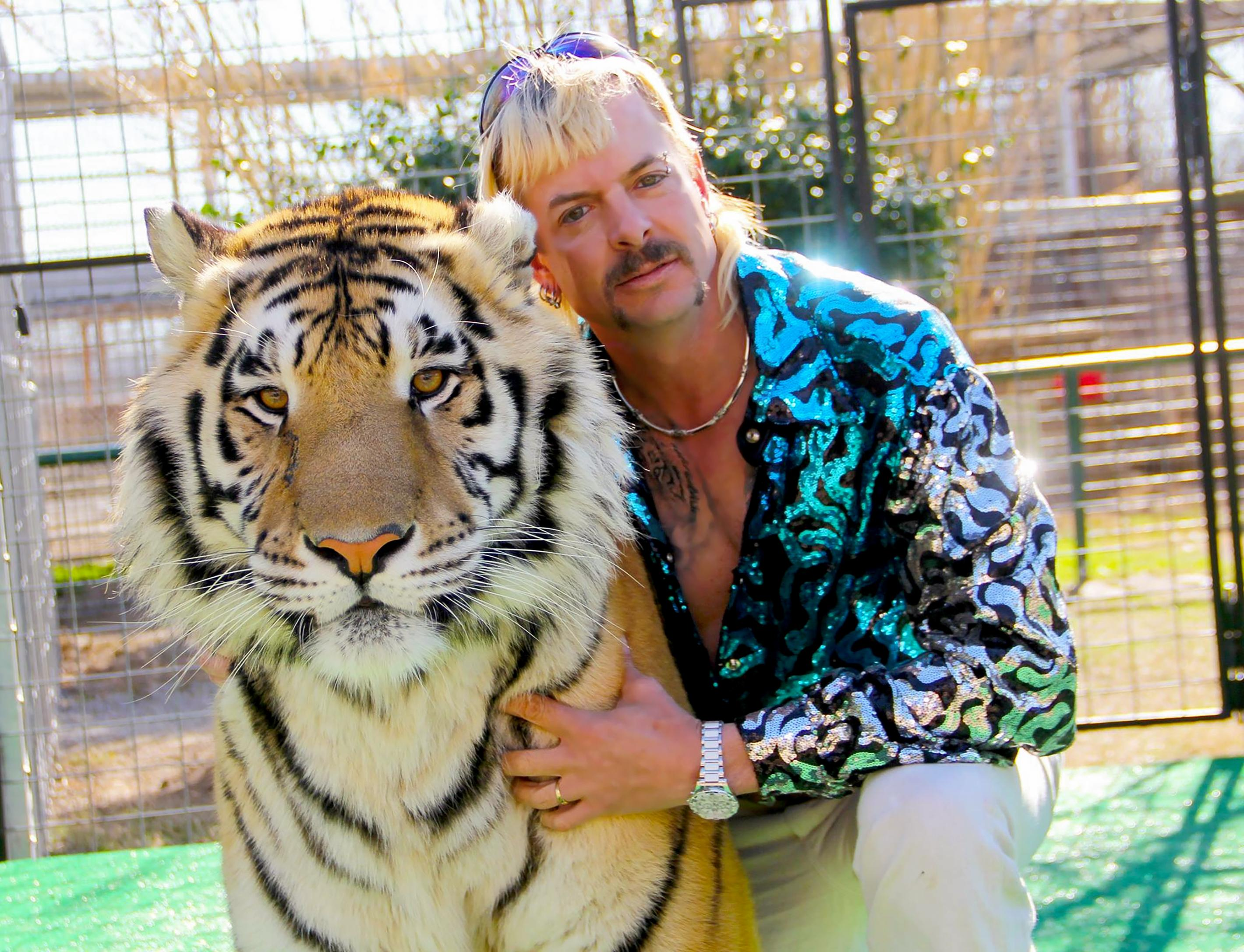 Joe Exotic Of 'Tiger King' Asks Donald Trump To Pardon Him