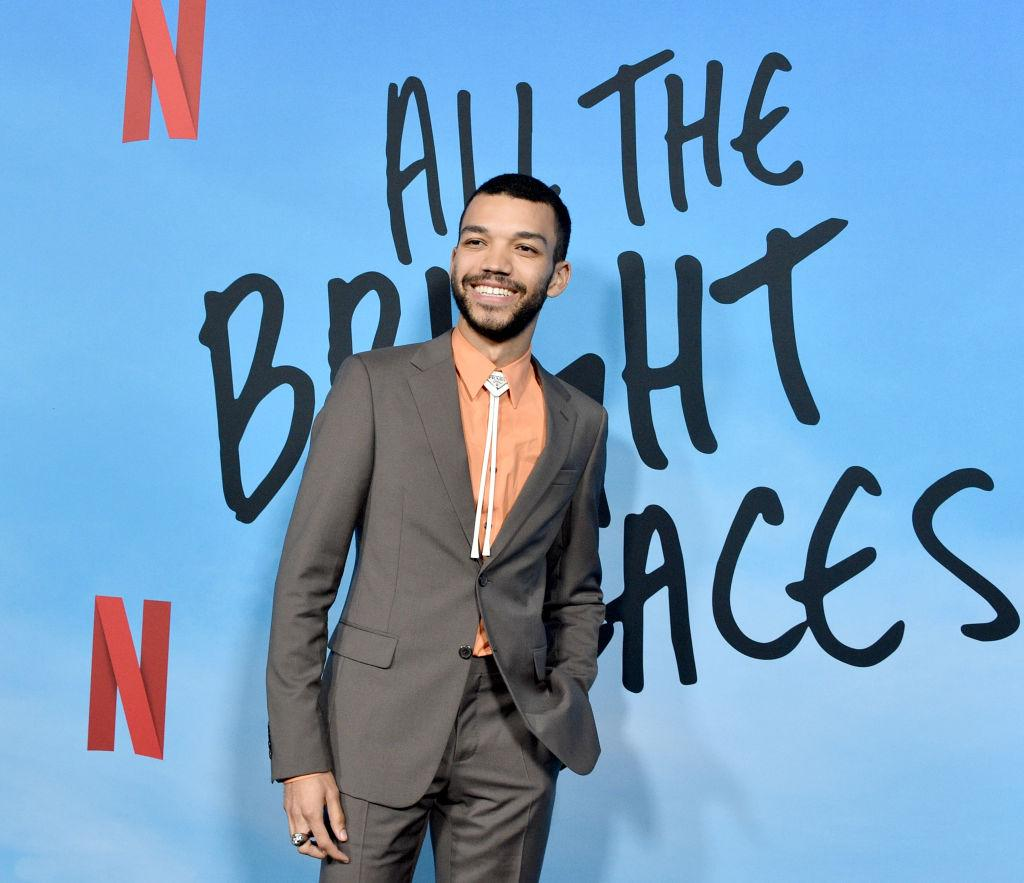 Justice Smith confirms he is queer, takes part in George Floyd protest