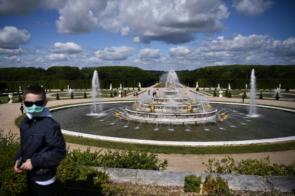 French landmark the Palace of Versailles reopened after 82 days of closure