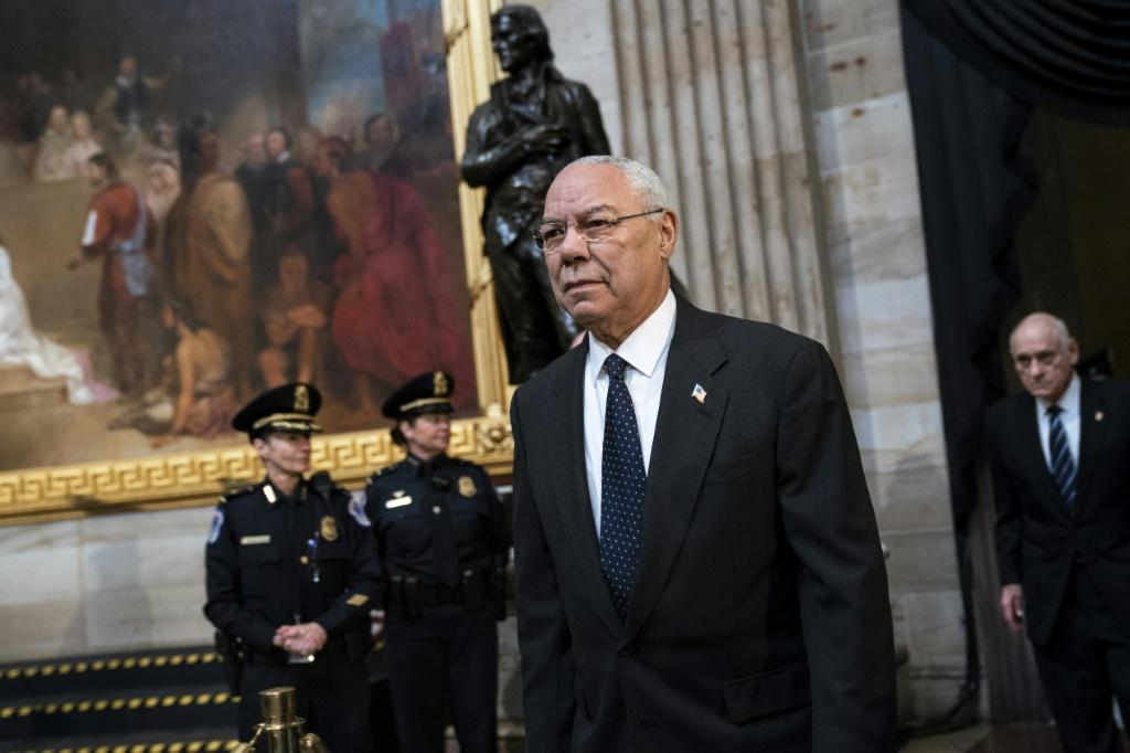 Former Chairman of the Joint Chiefs of Staff and former Secretary of State Colin Powell