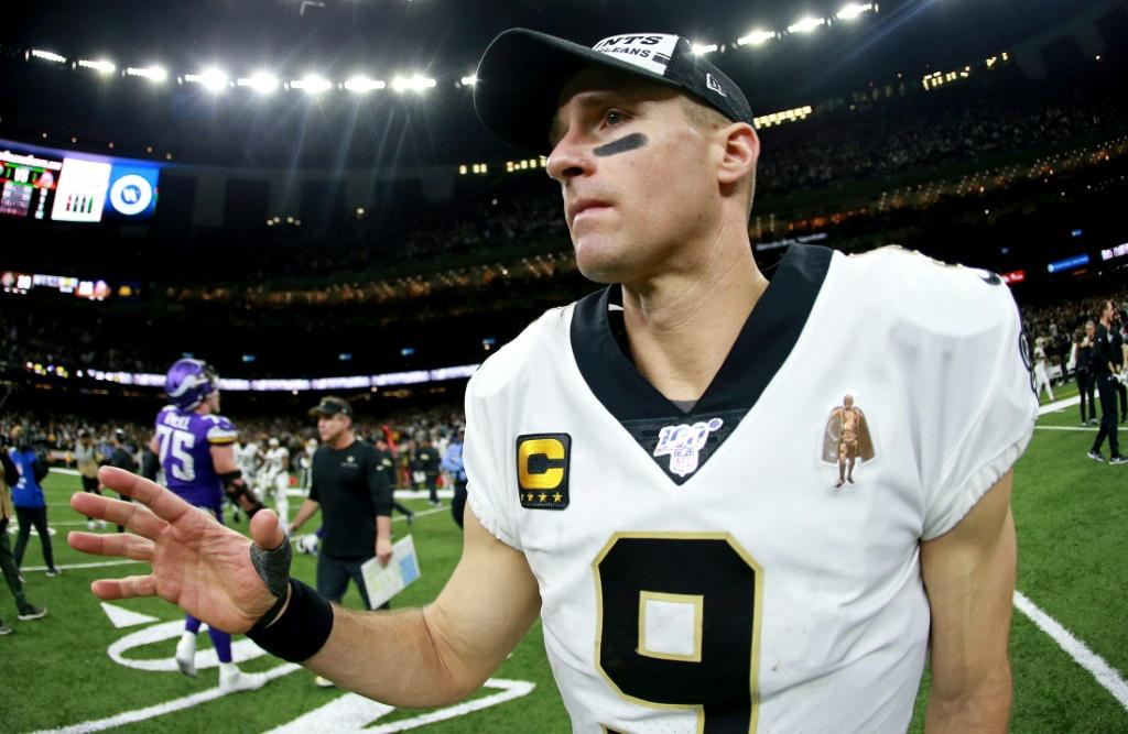 NFL star Drew Brees received death threats over his comments last week that he doesn't agree with players kneeling during the US anthem