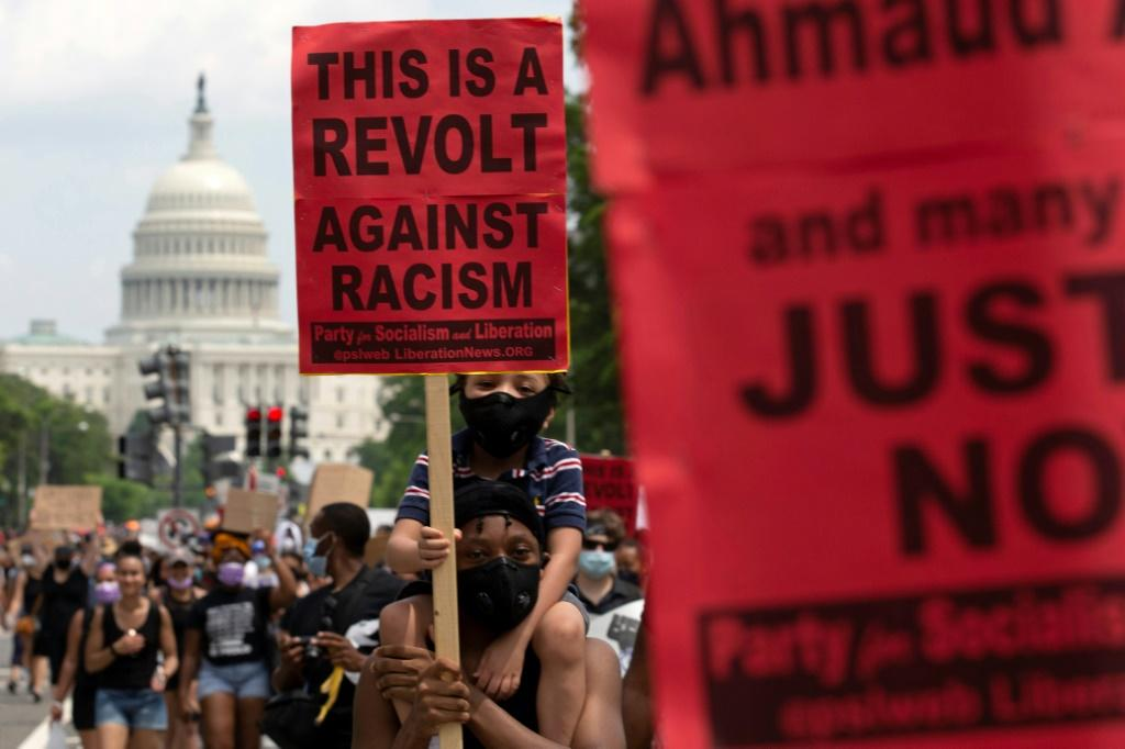 Thousands of people have been taking part in more than a week of protests nationwide against racism and police brutality after the death of George Floyd