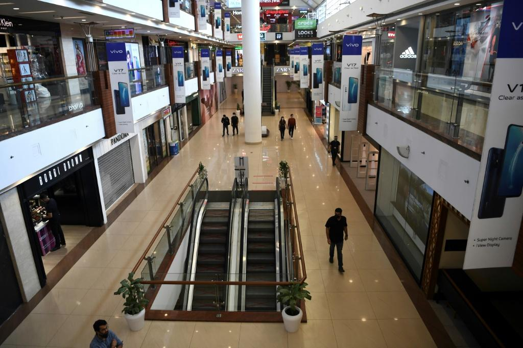 Customers could shop at Select CITYWALK mall in Delhi after the government eased a lockdown