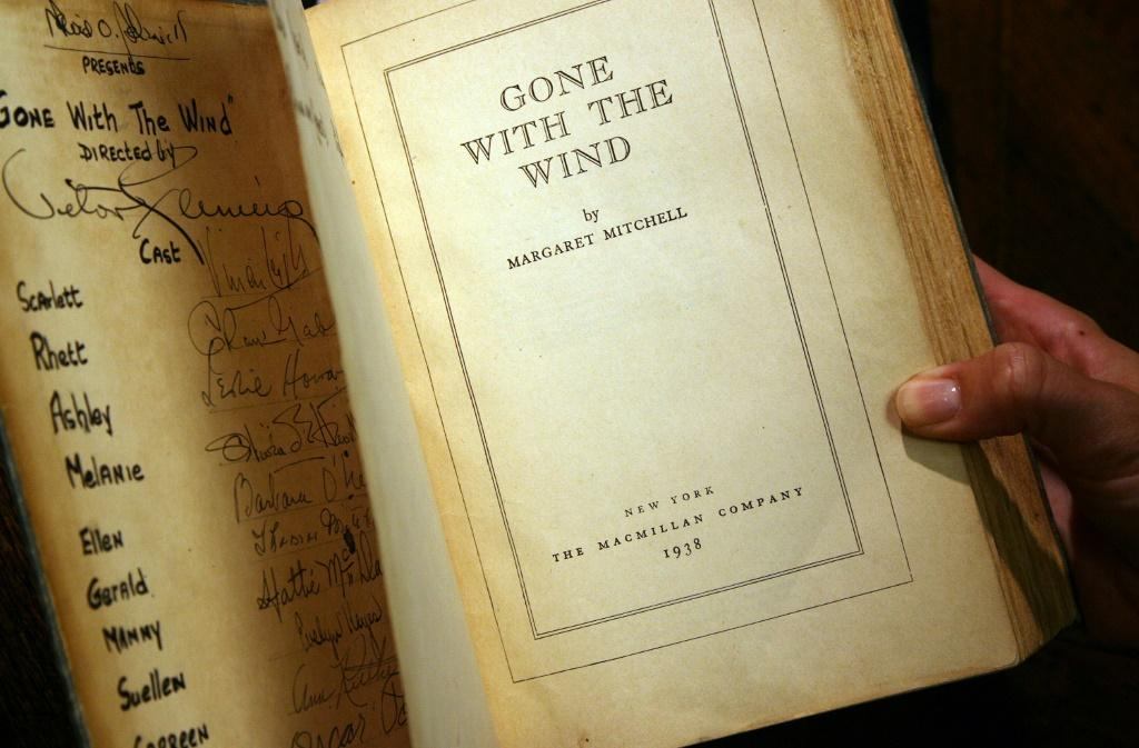 Multiple Oscar-winning US Civil War epic 'Gone with the Wind,' based on the novel by Margaret Mitchell, remains the highest-grossing movie of all time adjusted for inflation