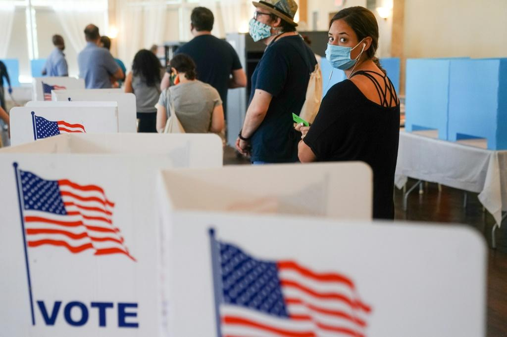 People waited for hours on June 9, 2020 to vote in Georgia's primary election