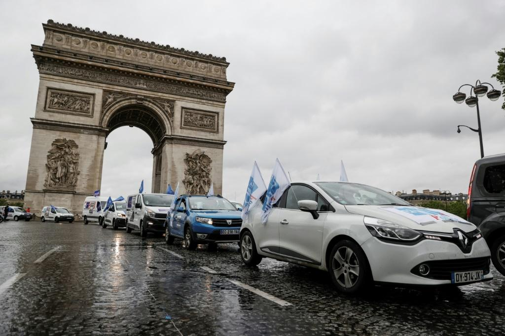 French police have protested in recent days at the accusations against them and what they see as a lack of government support