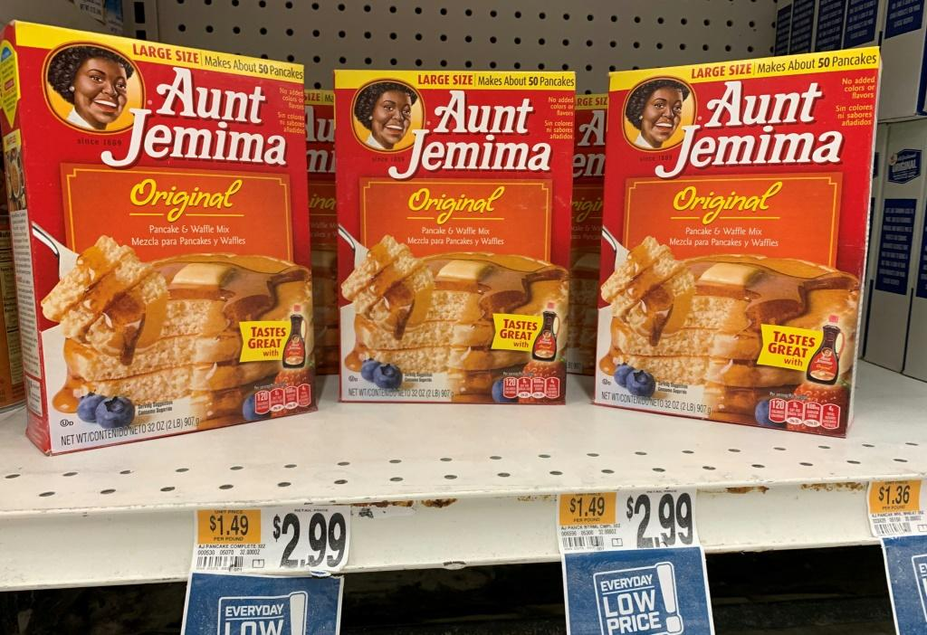 """The Aunt Jemima brand of syrup and pancake mix will get a new name and image, after Quaker Oats said it recognized that """"Aunt Jemima's origins are based on a racial stereotype"""