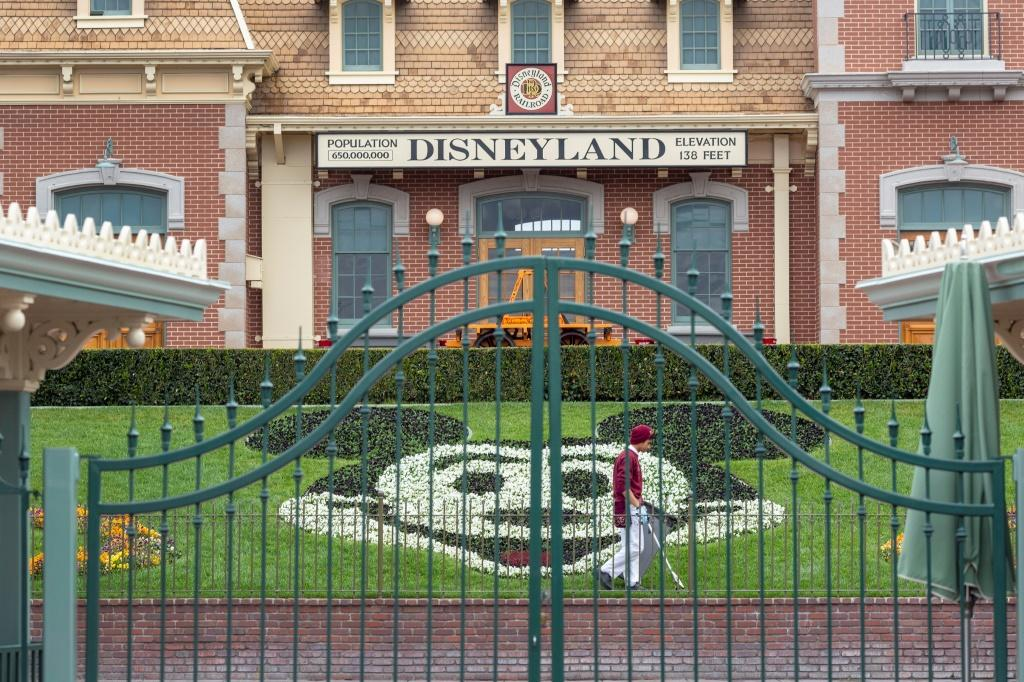 Disneyland in California was due to open on July 17 but has said its gates will now stay closed owing to the virus resurgence, without naming a new date