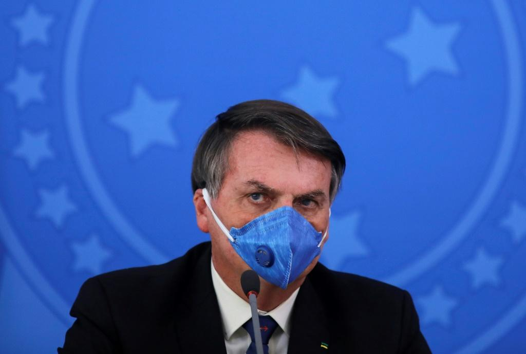 Brazil's President Jair Bolsonaro has appealed to the Supreme Court against a ruling that he has to wear a mask against the coronovirus during public appearances