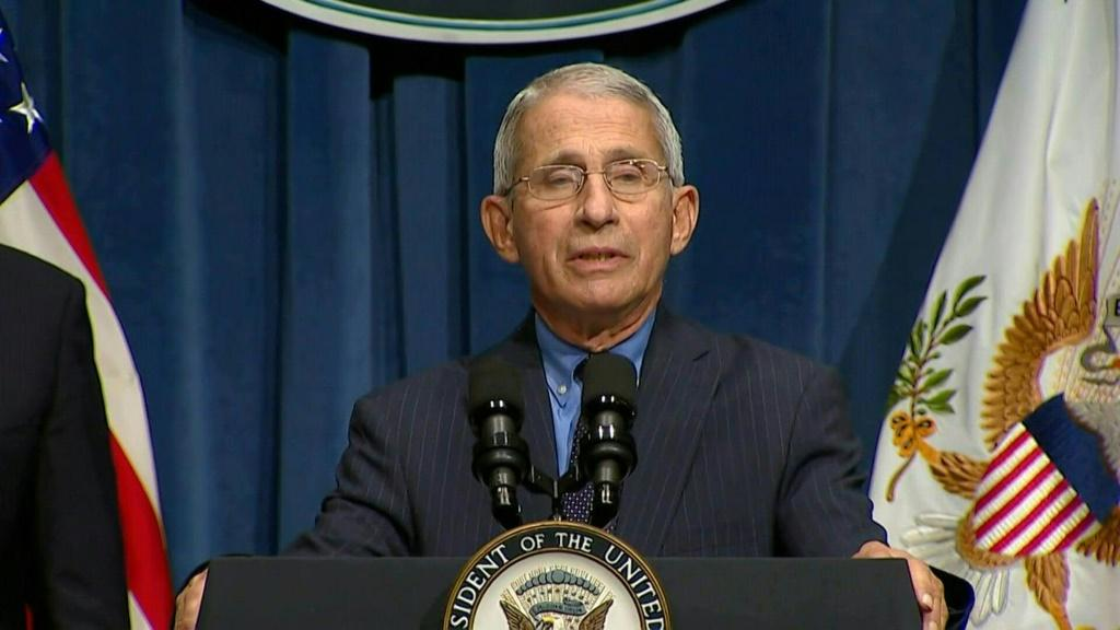 "SOUNDBITEThe United States is facing a ""serious problem"" as southern and western states experience a surge in coronavirus cases, says leading government expect Anthony Fauci."