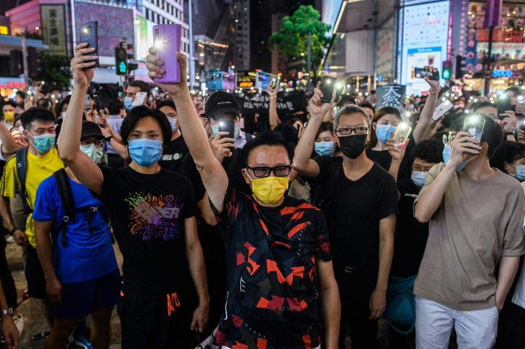 Protests against China's increasingly heavy-handed approach to Hong Kong of wracked the city for a year