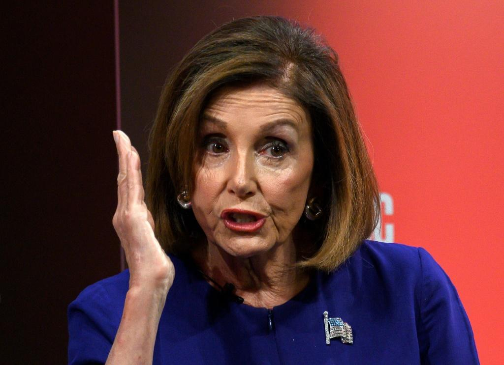 """US Speaker of the House Nancy Pelosi asked for an interagency briefing for the House of Representatives on """"President Trump's inexplicable behavior towards Russia"""
