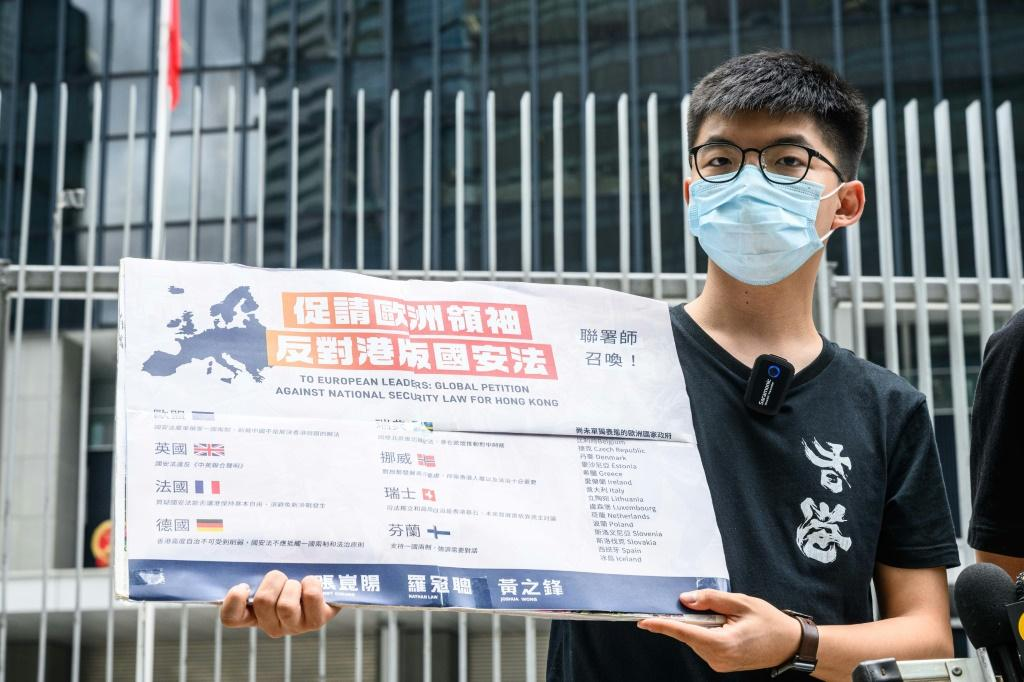 "Prominent democracy campaigner Joshua Wong tweeted: ""It marks the end of Hong Kong that the world knew before. With sweeping powers and ill-defined law, the city will turn into a #secretpolicestate"