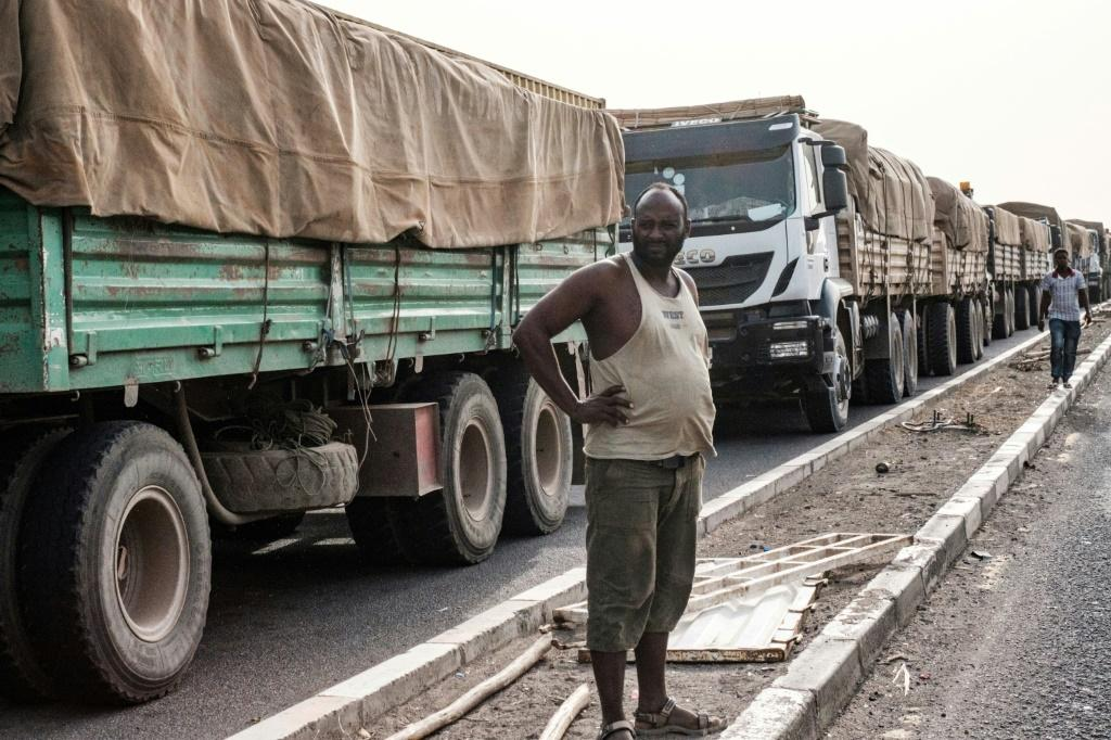 Time to wait: Tariffs are not the only impediment to trade -- poor transport infrastructure is a major problem in Africa