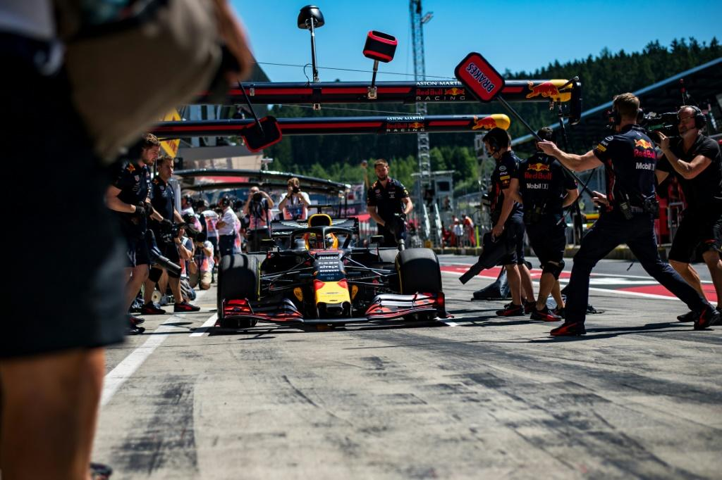 Not so busy: The Spielberg pit lane and paddock will have fewer people this year