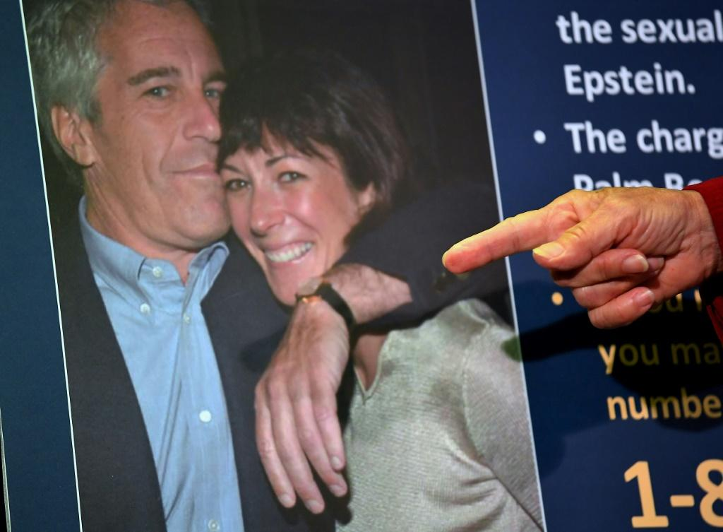Acting US Attorney for the Southern District of New York, Audrey Strauss, announces charges against Ghislaine Maxwell -- shown here with the late disgraced financier Jeffrey Epstein
