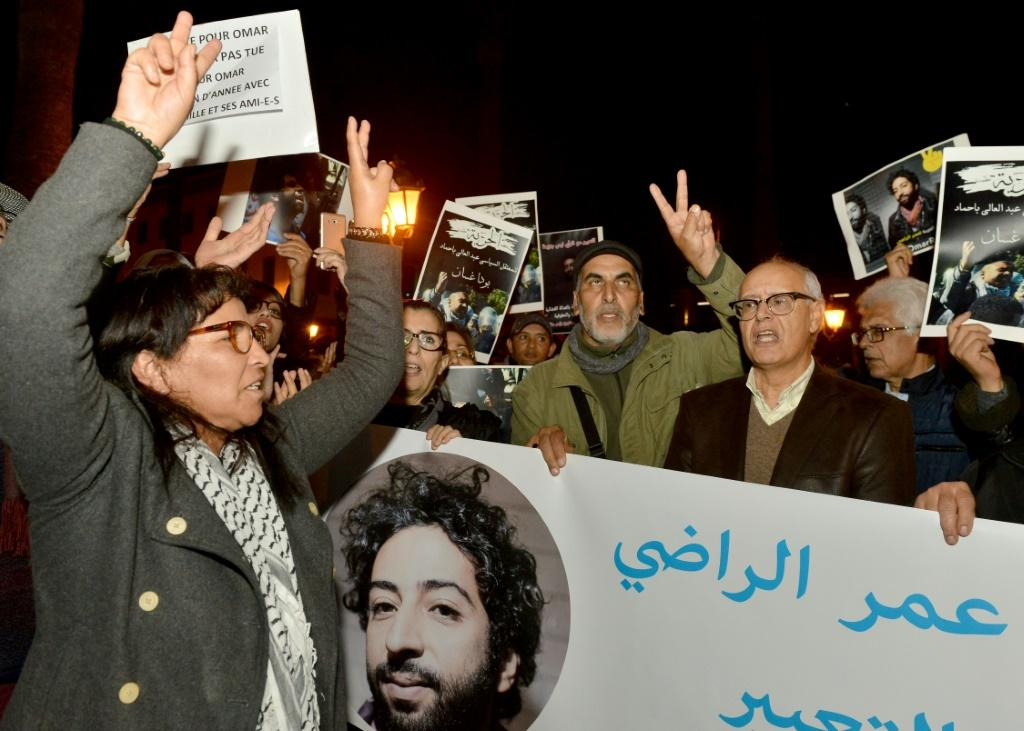 Amnesty has accused Morocco of putting spyware on the phone of Omar Radi, a journalist jailed over a social media post whose case has sparked protests